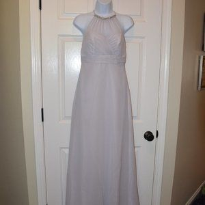 Gray Formal Dress by Alfred Angelo